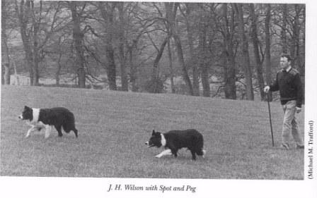 J.H. Wilson Spot & Peg. Photo from The Blue Ribbon of the Heather by E.B. Carpenter